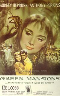 Green Mansions - 43 x 62 Movie Poster - Bus Shelter Style A