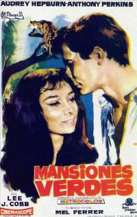 Green Mansions - 11 x 17 Movie Poster - Spanish Style A