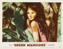 Green Mansions - 22 x 28 Movie Poster - Half Sheet Style A