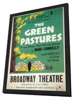Green Pastures, The (Broadway) - 11 x 17 Poster - Style A - in Deluxe Wood Frame