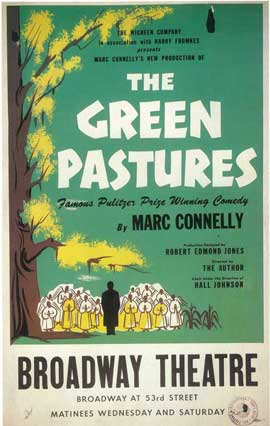 Green Pastures, The (Broadway) - 14 x 22 Poster - Style A