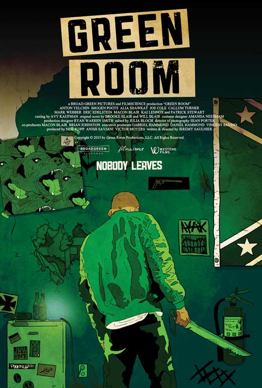 Green Room Movie Posters From Movie Poster Shop
