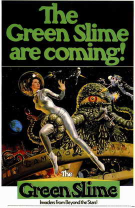 The Green Slime - 11 x 17 Movie Poster - Style A