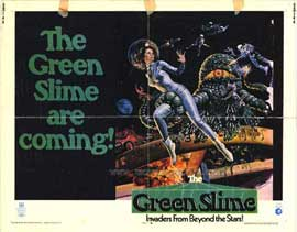 The Green Slime - 11 x 14 Movie Poster - Style C