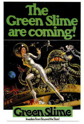 The Green Slime - 27 x 40 Movie Poster - Style A