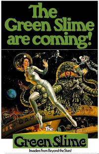 The Green Slime - 43 x 62 Movie Poster - Bus Shelter Style A