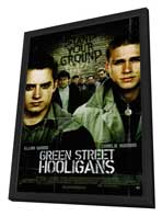 Green Street Hooligans - 27 x 40 Movie Poster - Style A - in Deluxe Wood Frame