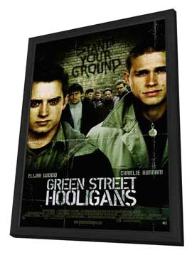 Green Street Hooligans - 11 x 17 Movie Poster - Style A - in Deluxe Wood Frame