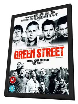 Green Street Hooligans - 11 x 17 Movie Poster - UK Style A - in Deluxe Wood Frame
