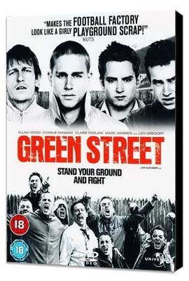 Green Street Hooligans - 11 x 17 Movie Poster - UK Style A - Museum Wrapped Canvas