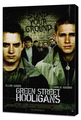 Green Street Hooligans - 27 x 40 Movie Poster - Style A - Museum Wrapped Canvas
