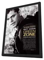 Green Zone - 27 x 40 Movie Poster - Style A - in Deluxe Wood Frame