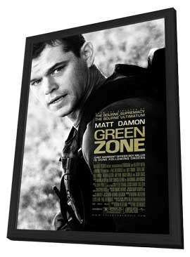 Green Zone - 11 x 17 Movie Poster - Style A - in Deluxe Wood Frame