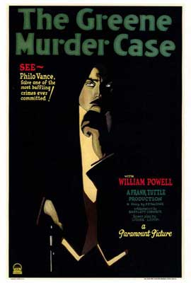 The Greene Murder Case - 27 x 40 Movie Poster - Style A