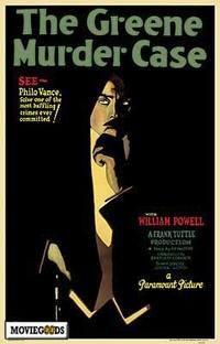 The Greene Murder Case - 43 x 62 Movie Poster - Bus Shelter Style A