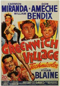 Greenwich Village - 11 x 17 Movie Poster - Style A