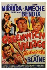 Greenwich Village - 27 x 40 Movie Poster - Style A