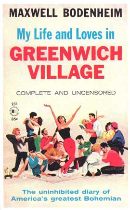 Greenwich VIllage - 11 x 17 Retro Book Cover Poster