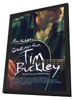 Greetings from Tim Buckley - 27 x 40 Movie Poster - Style A - in Deluxe Wood Frame