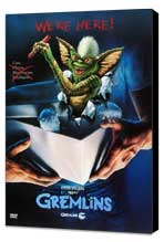 Gremlins - 11 x 17 Movie Poster - Style E - Museum Wrapped Canvas