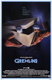 Gremlins - 11 x 17 Movie Poster - Style A - Museum Wrapped Canvas