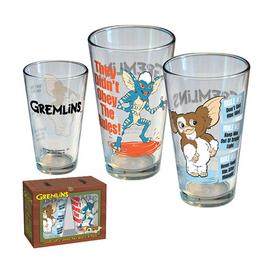 Gremlins - Gizmo and Stripe Cartoon Pint Glass 2-Pack