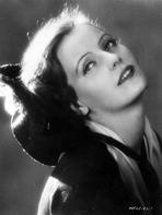 Greta Garbo - Greta Garbo Head Leaning Backward Pose Portrait