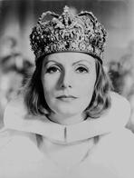 Greta Garbo - Greta Garbo in a Crown Close Up Portrait