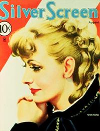Greta Garbo - 11 x 17 Silver Screen Magazine Cover 1930's Style A