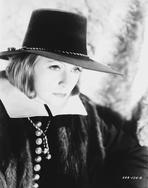 Greta Garbo - Greta Garbo Starring Something in Black Dress in Black Hat