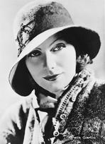 Greta Garbo - Greta Garbo Classic Outfit Portrait