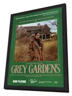 Grey Gardens - 27 x 40 Movie Poster - Style A - in Deluxe Wood Frame