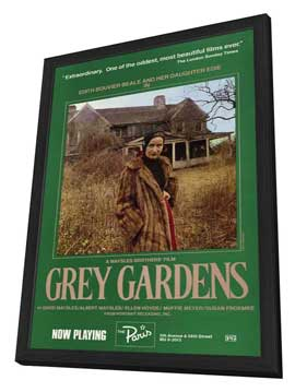 Grey Gardens - 11 x 17 Movie Poster - Style A - in Deluxe Wood Frame