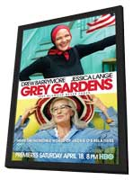 Grey Gardens (TV) - 11 x 17 Movie Poster - Style A - in Deluxe Wood Frame