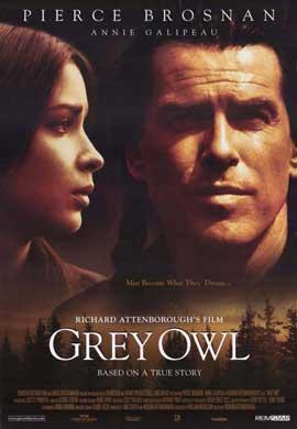 Grey Owl - 11 x 17 Movie Poster - Style B