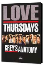 Grey's Anatomy - 11 x 17 TV Poster - Style C - Museum Wrapped Canvas