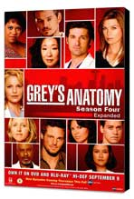 Grey's Anatomy - 27 x 40 Movie Poster - Style D - Museum Wrapped Canvas