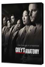 Grey's Anatomy - 27 x 40 TV Poster - Style D - Museum Wrapped Canvas