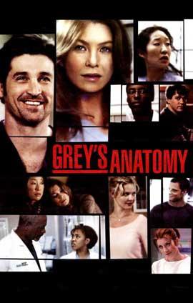 Grey's Anatomy - 11 x 17 TV Poster - Style B