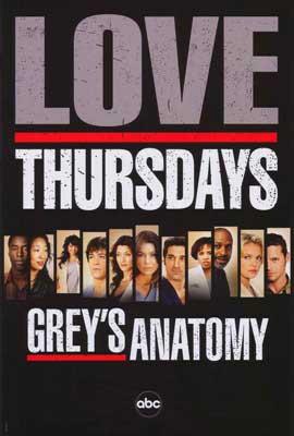 Grey's Anatomy - 27 x 40 TV Poster - Style C