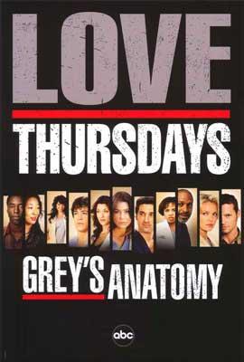 Grey's Anatomy - 11 x 17 TV Poster - Style C