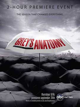 Grey's Anatomy - 11 x 17 TV Poster - Style G