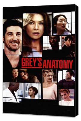 Grey's Anatomy - 11 x 17 TV Poster - Style B - Museum Wrapped Canvas