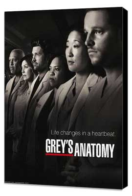 Grey's Anatomy - 11 x 17 TV Poster - Style K - Museum Wrapped Canvas
