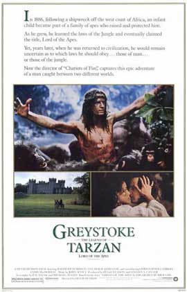 Greystoke: The Legend of Tarzan, Lord of the Apes - 11 x 17 Movie Poster - Style A