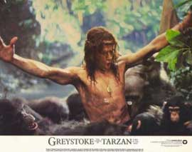 Greystoke: The Legend of Tarzan, Lord of the Apes - 11 x 14 Movie Poster - Style B