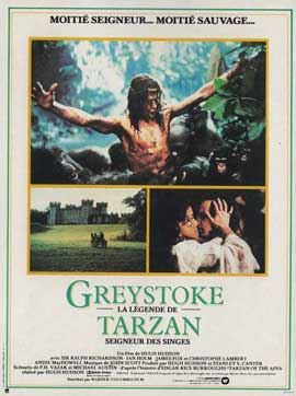 Greystoke: The Legend of Tarzan, Lord of the Apes - 11 x 17 Movie Poster - French Style A