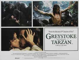 Greystoke: The Legend of Tarzan, Lord of the Apes - 11 x 14 Poster UK Style A