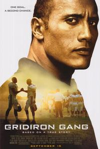 Gridiron Gang - 43 x 62 Movie Poster - Bus Shelter Style B