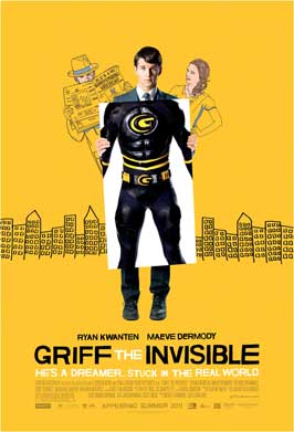 Griff the Invisible - 27 x 40 Movie Poster - Style A
